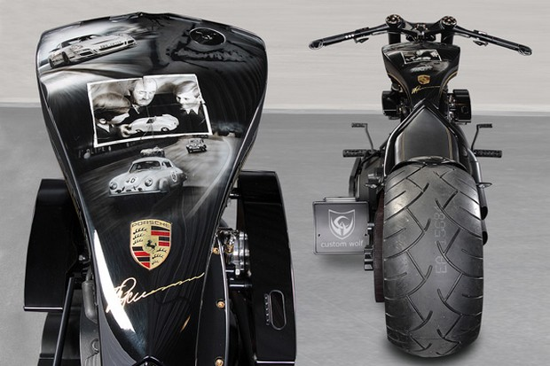 Porsche Tribute Bike 3