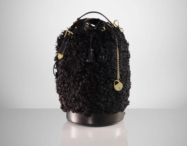 Ralph Lauren Shearling Duffle Bag 2