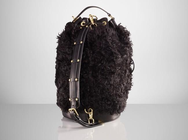 Ralph Lauren Shearling Duffle Bag 3