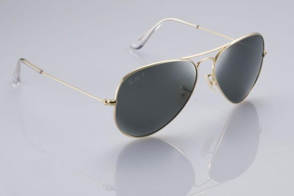 Ray Ban - solid gold sunglasses 2