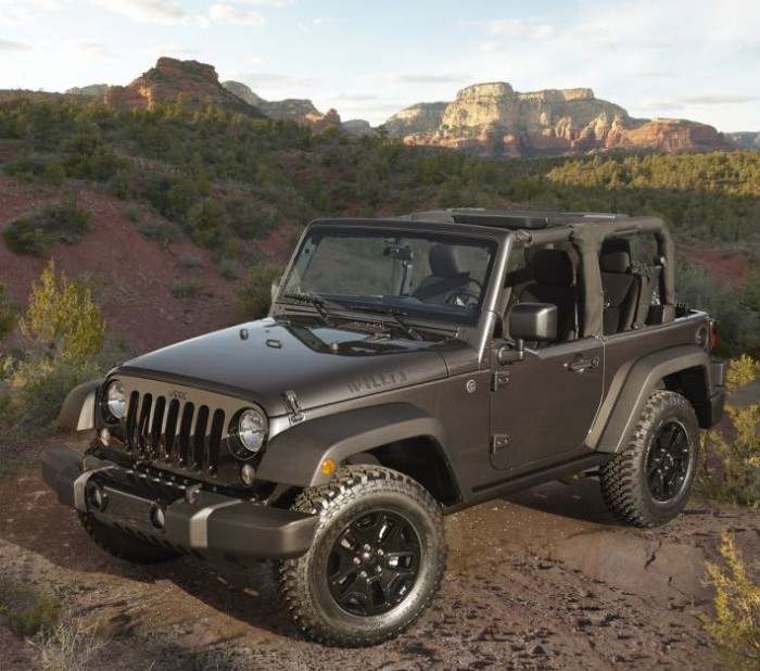 2014 Jeep Wrangler Willys Edition 3