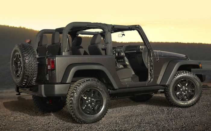 2014 Jeep Wrangler Willys Edition 4