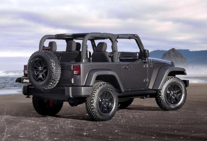 2014 Jeep Wrangler Willys Edition 5