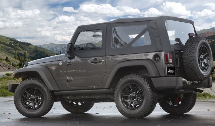 2014 Jeep Wrangler Willys Edition 6