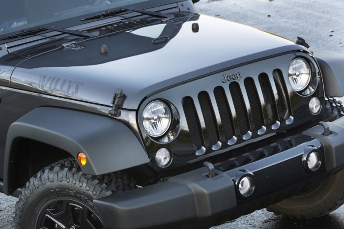 2014 Jeep Wrangler Willys Edition 7