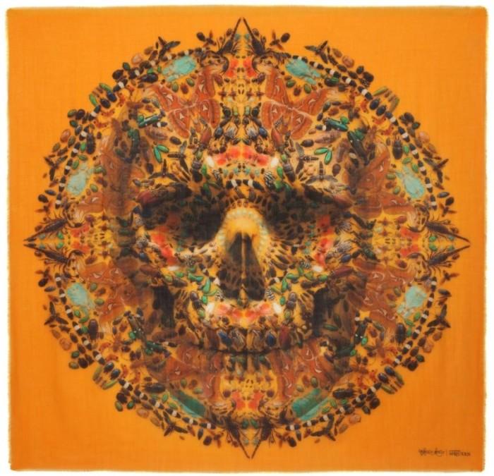 Alexander McQueen Skull Scarf - Tityus big skull