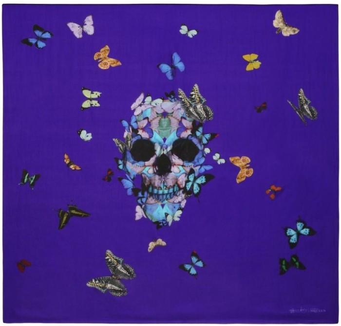 Alexander McQueen Skull Scarf - Perfect Moment