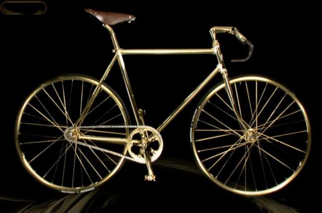 Aurumania - Crystal Edition Gold Bike 1
