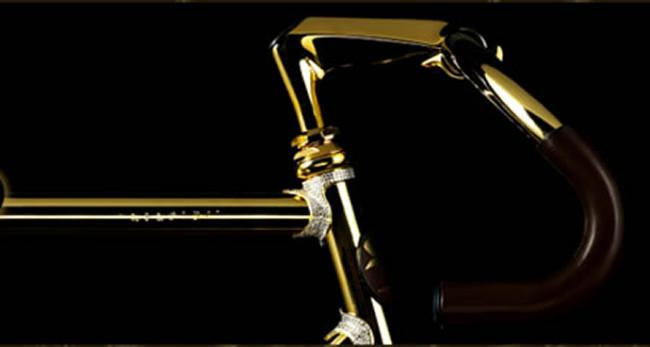 Aurumania - Crystal Edition Gold Bike 2