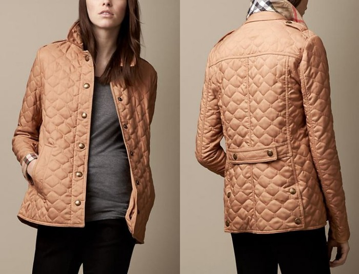 Burberry - Military Quilted Jacket