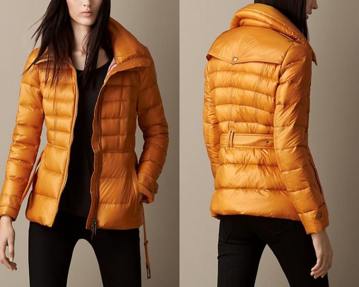 Burberry - Channel Quilted Puffer Jacket