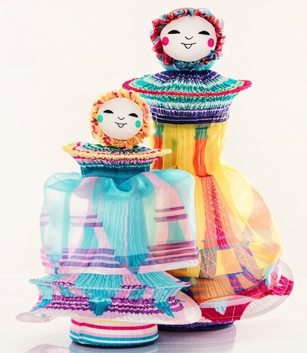 Designer Dolls For UNICEF - Issey Miyake