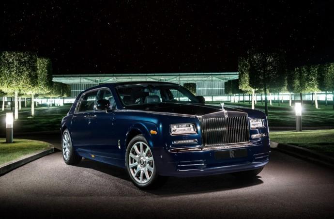 Diamond Studded Rolls-Royce Celestial Phantom - 1