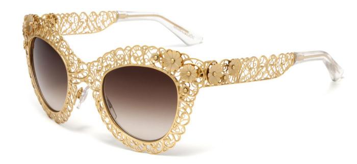 Dolce & Gabbana - Filigree sunglasses 1