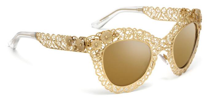 Dolce & Gabbana - Filigree sunglasses 2