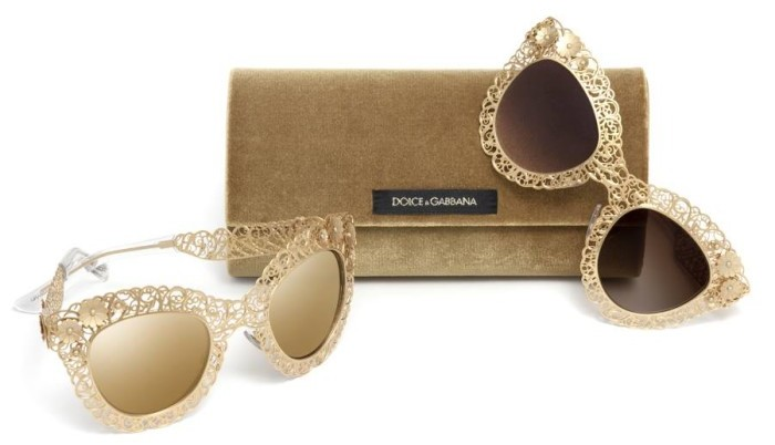 Dolce & Gabbana - Filigree sunglasses 3