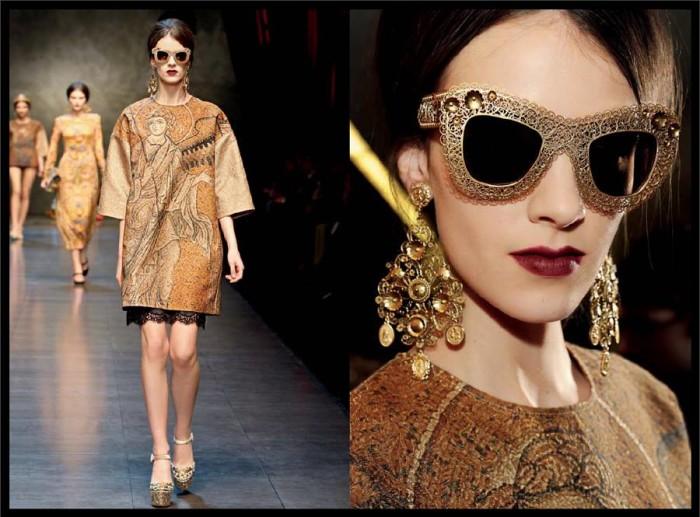 Dolce & Gabbana - Filigree sunglasses 5
