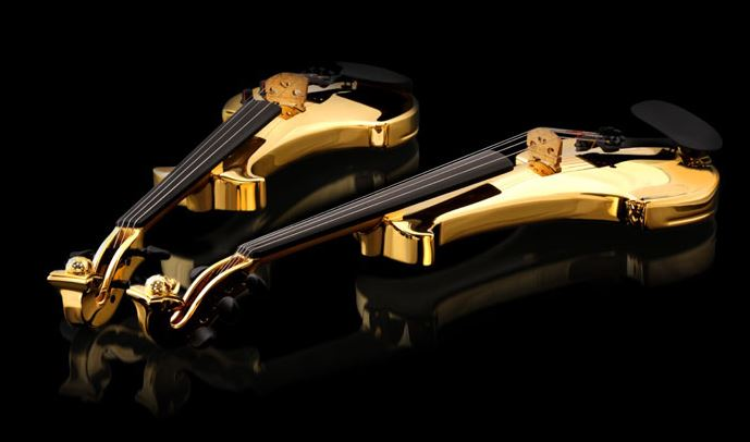 FUSE gold violin - 2