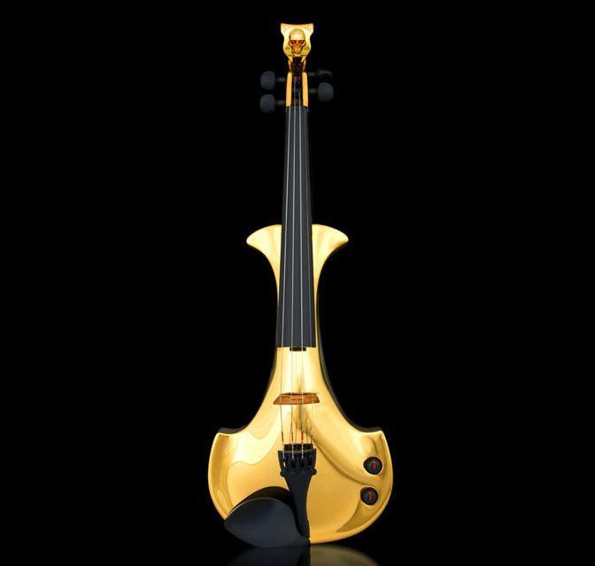FUSE gold violin - 4