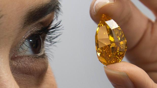 Fancy Vivid Orange Diamond - 1