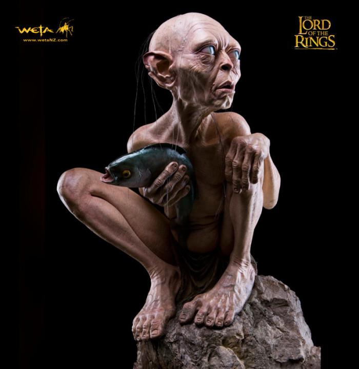 Gollum statue 3