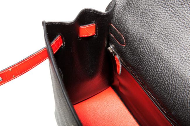 Hermes - Leather Sellier Kelly Bag 5