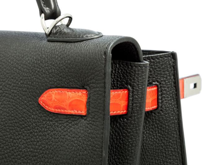 Hermes - Leather Sellier Kelly Bag 7