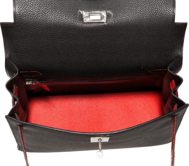 Hermes - Leather Sellier Kelly Bag 8