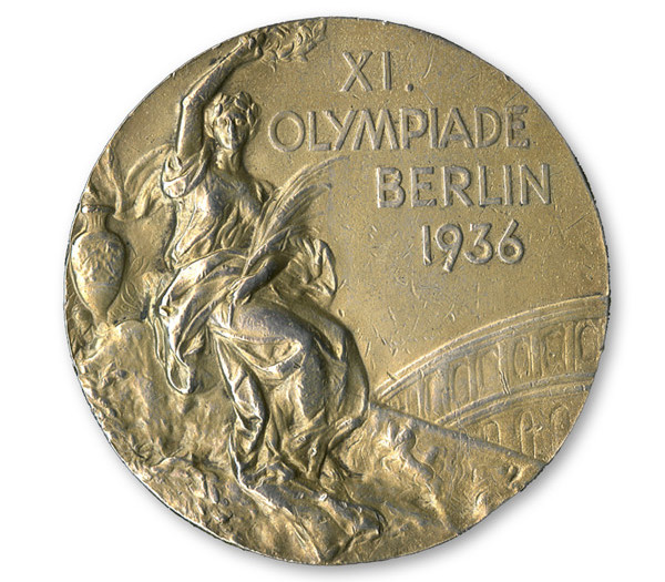 Jesse Owens Olympic medal