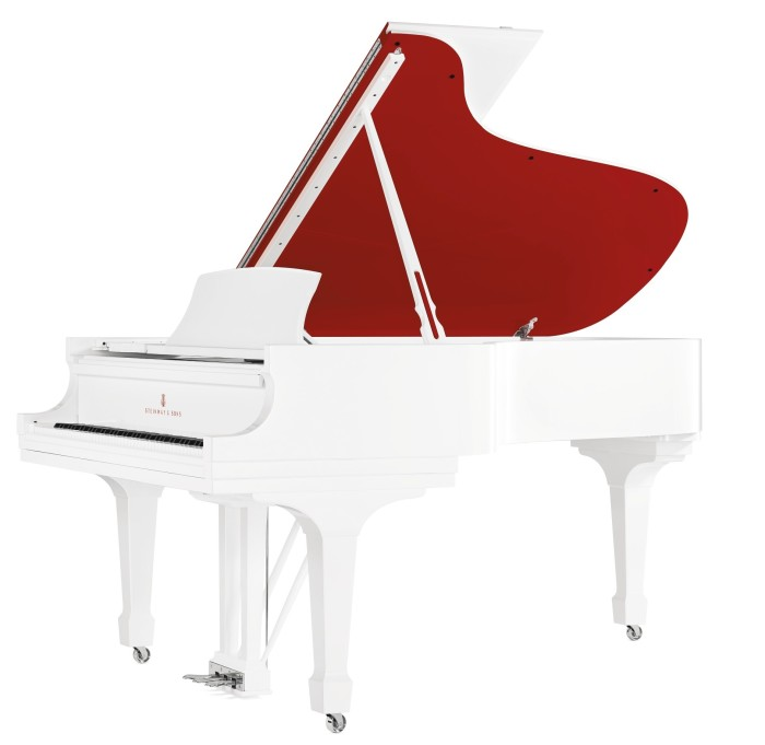 Jony Ive Marc Newson RED auction - Steinway Piano