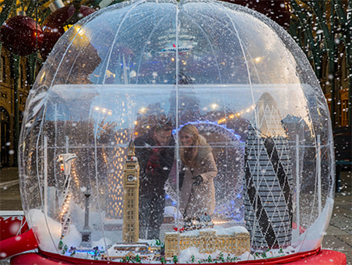 LEGO Snowglobe London 5