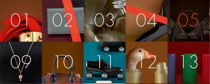 Louis Vuitton Christmas catalogue 2