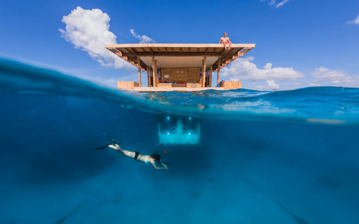 Manta Resort - Under Water Room 2