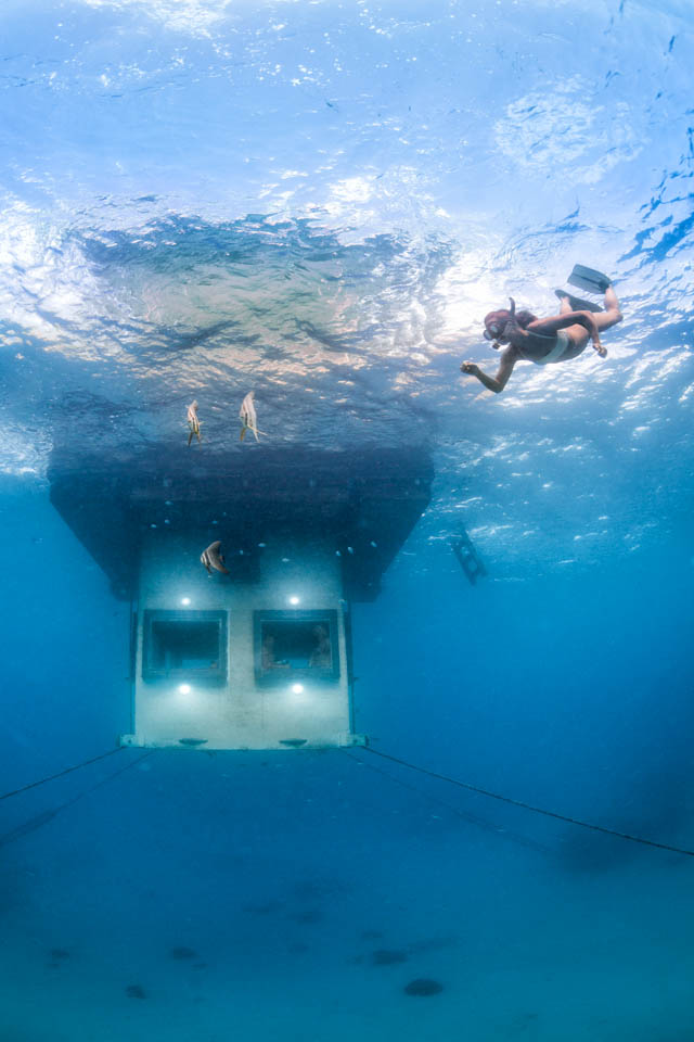 Manta Resort - Under Water Room 3