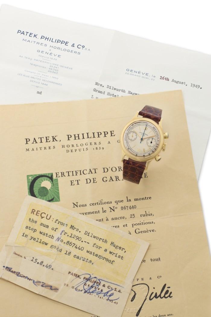Patek Philippe JFK Dr Kemp Clark - 2