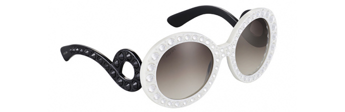 Prada Precious Ornate Sunglasses 7