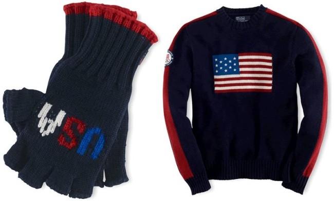 Ralph Lauren Sochi Team USA uniform - 3