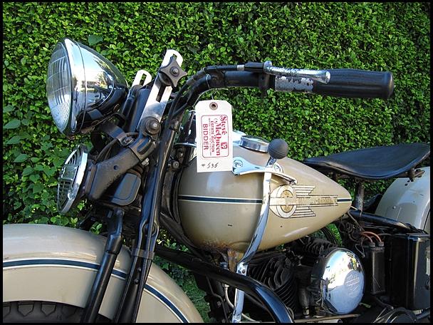 Steve McQueen's 1938 Harley-Davidson - 2
