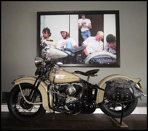 Steve McQueen's 1938 Harley-Davidson - 4