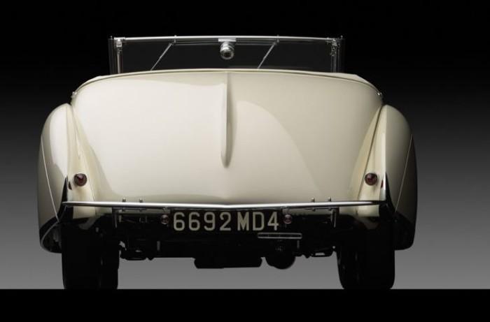 Talbot Lago Teardrop Cabriolet 5