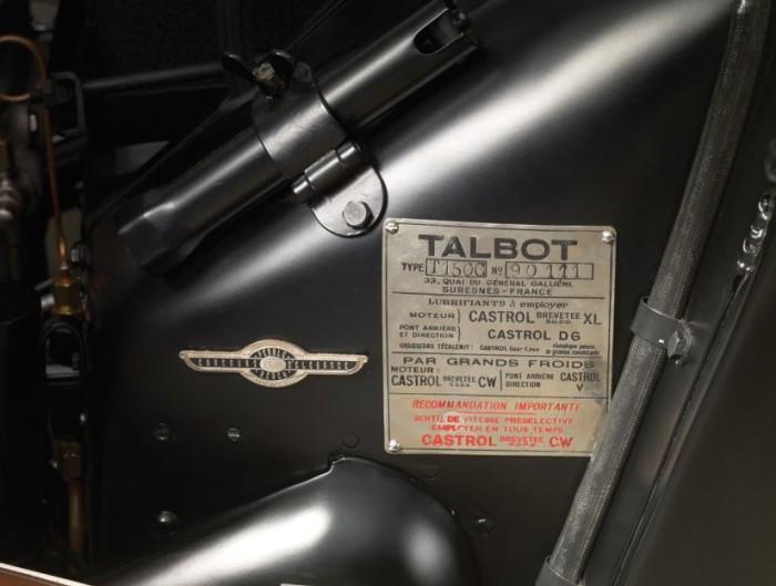 Talbot Lago Teardrop Cabriolet 9