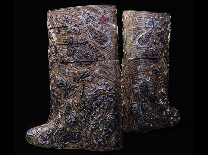 A.F.Vandevorst Diamond Boots 2
