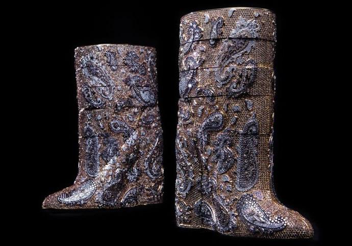 A.F.Vandevorst Diamond Boots 3