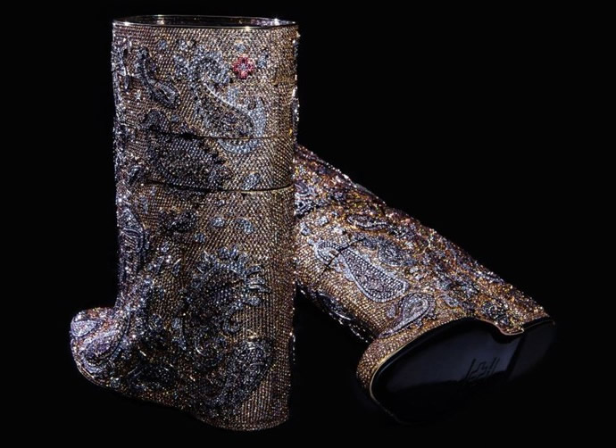 A.F.Vandevorst Diamond Boots 4