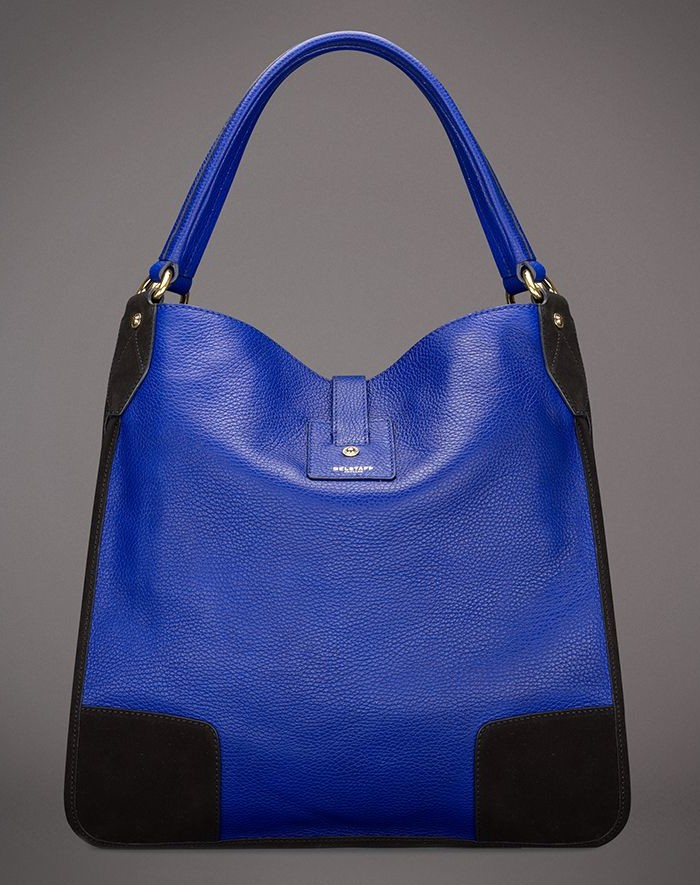 Belstaff Nottingham 38 Hobo Bag - Blue 2