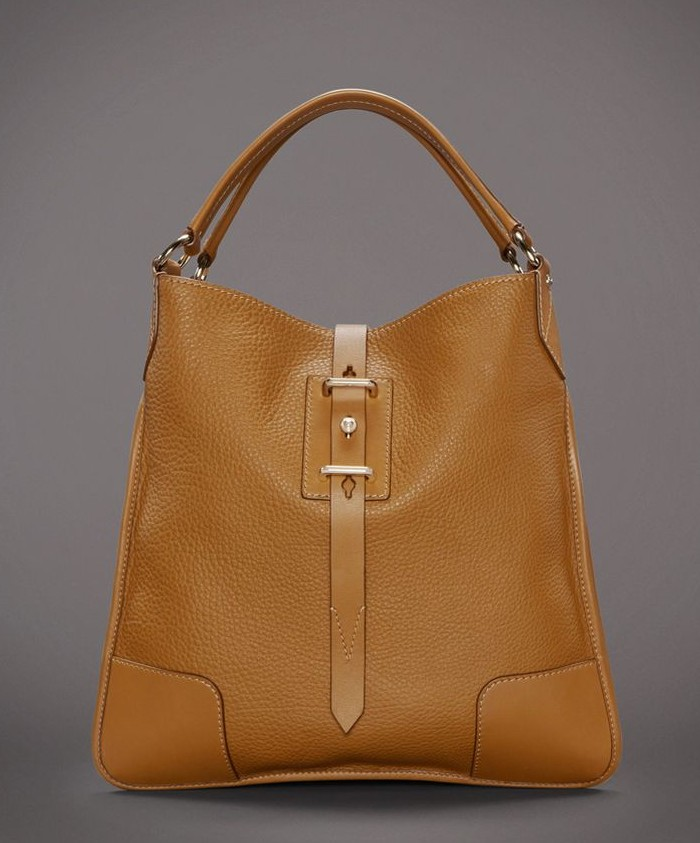 Belstaff Nottingham 38 Hobo Bag - Nutmeg