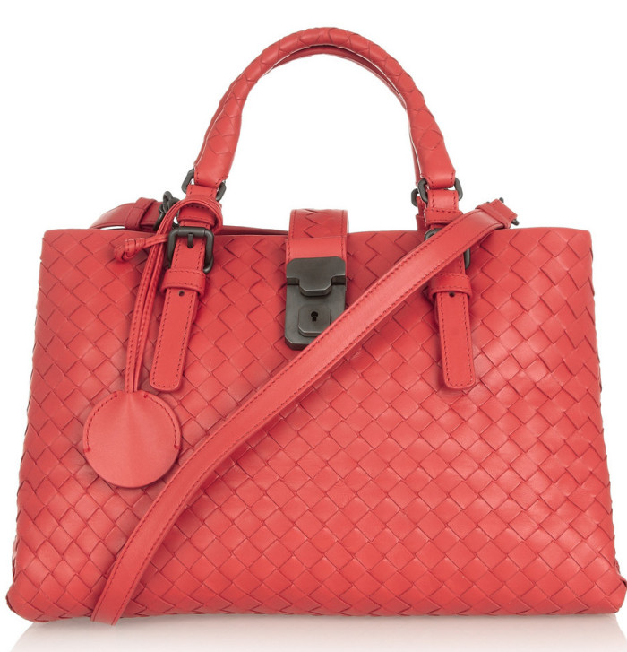 Bottega Veneta Roma small intrecciato leather tote 4