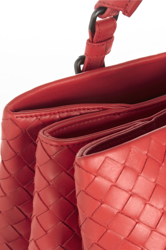 Bottega Veneta Roma small intrecciato leather tote 5