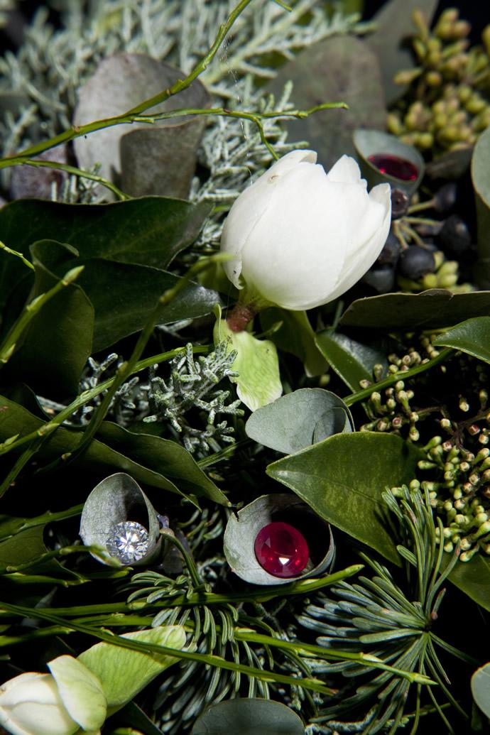 Diamond Studded Christmas wreath - 4