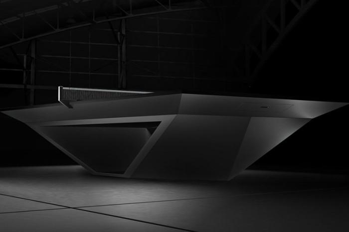 Eleven Ravens Stealth Premier Table Tennis Table 2